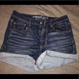 Denim shorts AEO